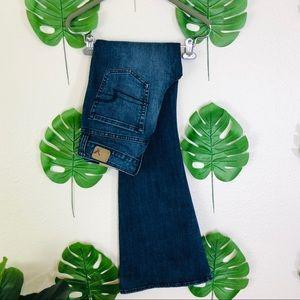 American Eagle High Rise Artist Kick Flare Jeans